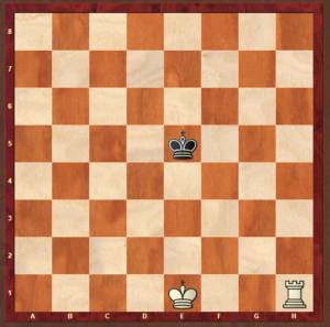 Rook checkmate